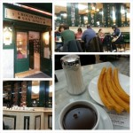 Relaxing chocolate con churros en San Gines