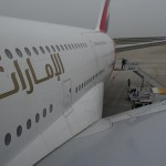 Volando con Emirates Business Class