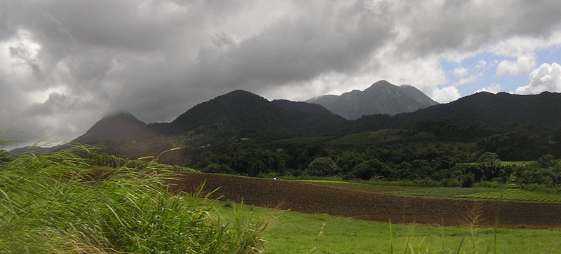 95) Vista de Martinica