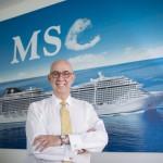 Entrevistamos a Emiliano González. Director general de MSC Cruceros