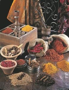 Especias de Túnez
