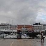 El MSC Musica hace escala en Coruña por primera vez
