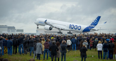 Primer vuelo del A350-1000