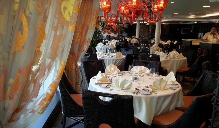 OCEANIA RIVIERA: Grand Dining Room: ¿Menú guarro o limpio?