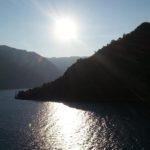 Entrando en Kotor por mar