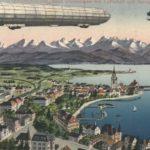 Flotando sobres los Alpes en un Zeppelin NT