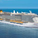 Evolución de la flota de Costa Cruceros hasta 2021