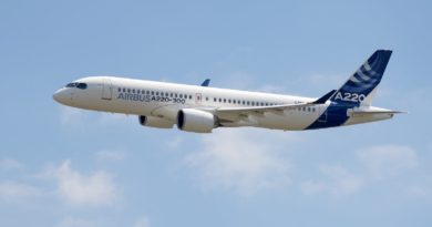 Airbus rebautiza los Cseries de Bombardier en A220