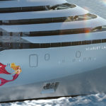 SCARLET LADY. El primer barco de Virgin Voyages