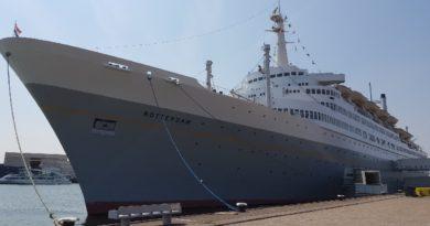 SS ROTTERDAM: Un hotel muy peculiar