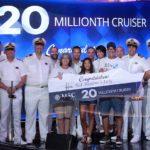 MSC Cruceros recibe al pasajero 20 millones