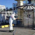 Protocolos de desinfección en el puerto de A Coruña
