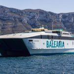 Balearia retoma servicios entre Denia y Baleares