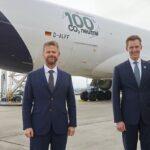 Primer vuelo de carga con combustible sostenible