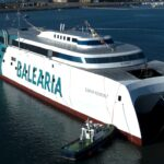 Baleària incorporará en marzo el primer 'fast ferry' del mundo con motores duales a gas